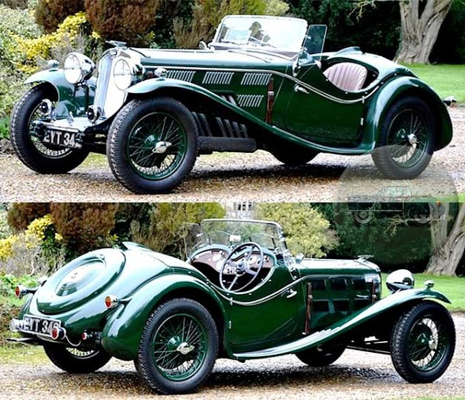 Triumph Dolomite 8C 2400 1934