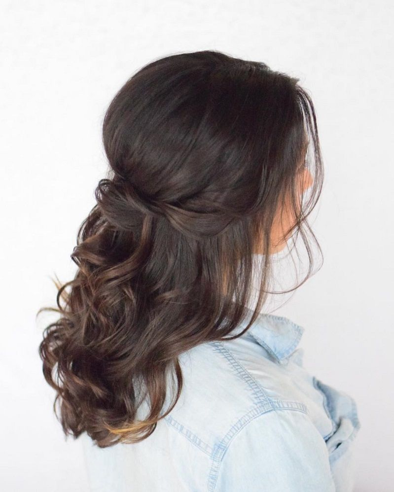 Half Up Half Down Hairstyles For Woman In 2018 6