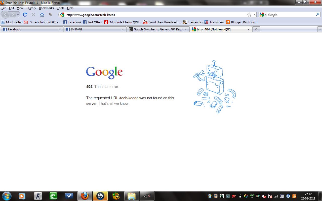 error 404 page - photo #39