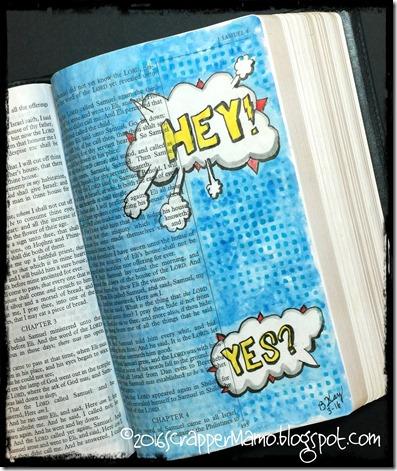 Bible Art 1 Sam 3
