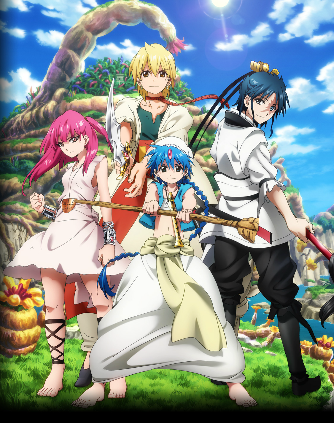 Magi 2 : The Kingdom of Magic [25/25] [SUB ESP] [MEGA]