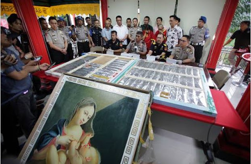 Kejelasan Soal 26,433 Kg Sabu Asal China Disita dari Balik Lukisan