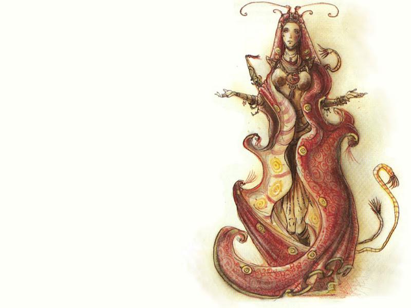 Magian Charmer Magic, Fantasy Girls 1
