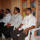 Demonstration of Amateur Radio Satellite communication to Mr Annadurai and Mr Raghavamurthy - DSC00138.JPG