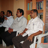 Demonstration of Amateur Radio Satellite communication to Mr Annadurai and Mr Raghavamurthy - DSC00138.JPG