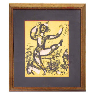 Marc Chagall 'The Circus' Lithograph Plate
