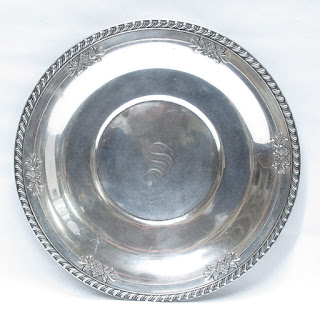 Sterling Silver Wallace Plate