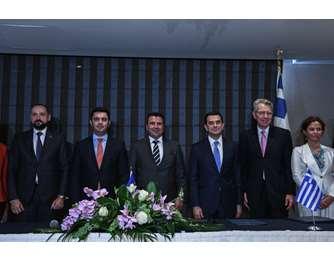 Υπεγράφη η συμφωνία για τον αγωγό φυσικού αερίου Ελλάδας - Β.Μακεδονίας