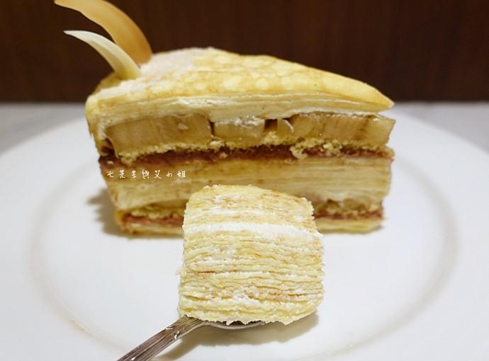 31 台南 深藍咖啡館 千層蛋糕