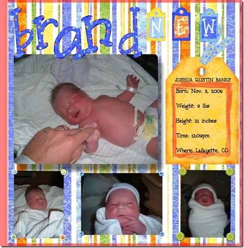josh baby book(#404420)-1