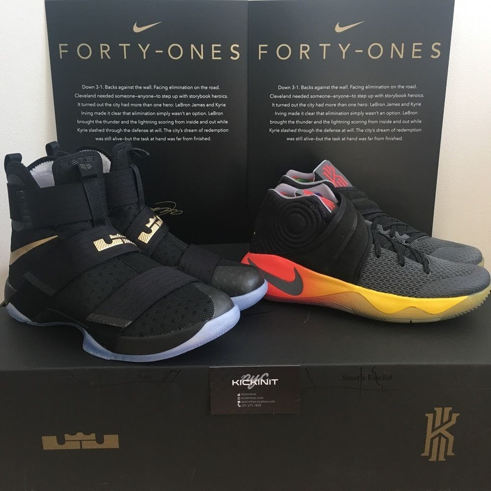 kyrie ivring shoes lebron james collection