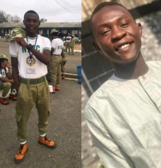 Friends mourn corps member allegedly shot dead by suspected kidnappers while returning from NYSC orientation camp in Osun