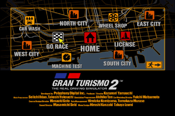 Gran Turismo 2 Simulation Mode