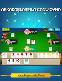 Banko Okey Oyunzade Ekran Görüntüsü