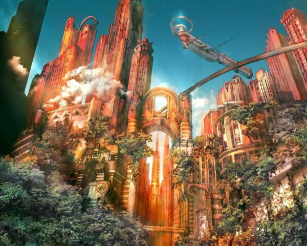 The Citi Of Golden Dawn, Magical Landscapes 2