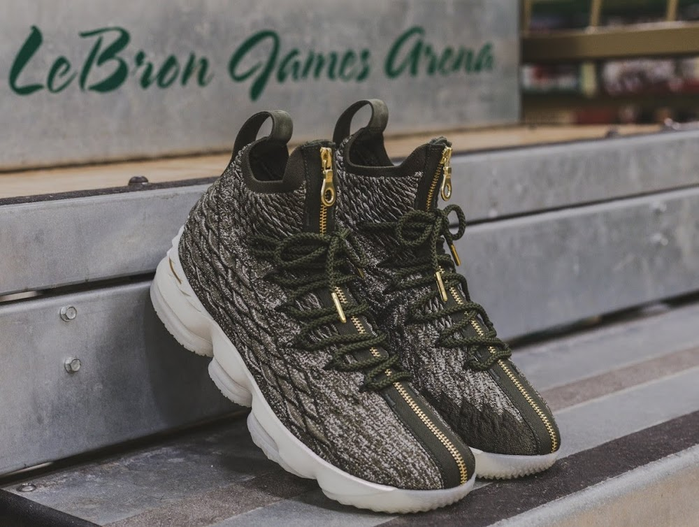 40916df661b Ronnie Fieg LeBron James Gift Exclusive LeBron 15 to SVSM ...