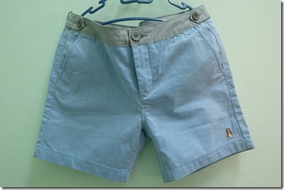 Hush Puppies chambray shorts