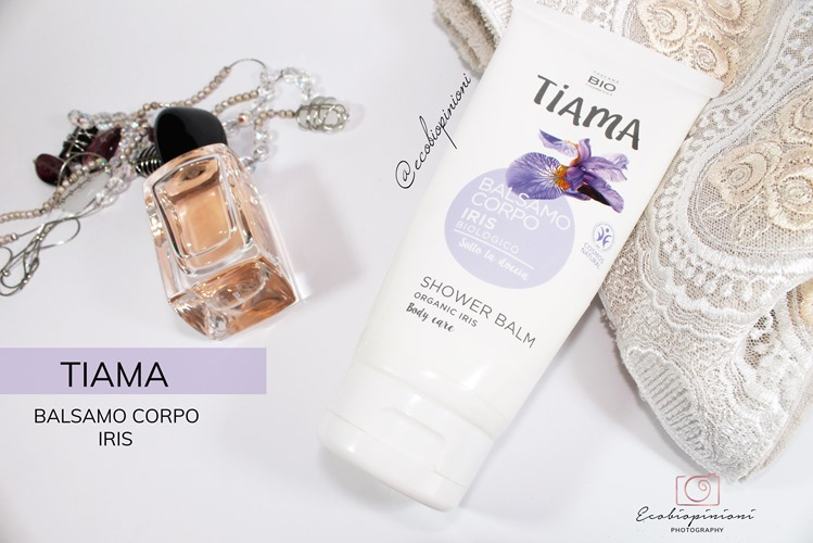 tiama_balsamo corpo iris sotto la doccia