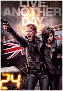 24 Horas   Live Another Day 9ª Temporada WEB DL 1080p Dual Áudio Capa