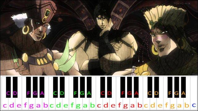Awaken Pillar Men Theme Jojo S Bizarre Adventure Piano