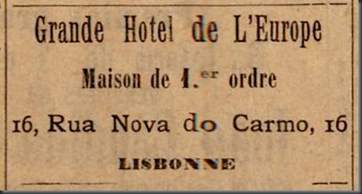 1896 Grand Hotel de L'Europe