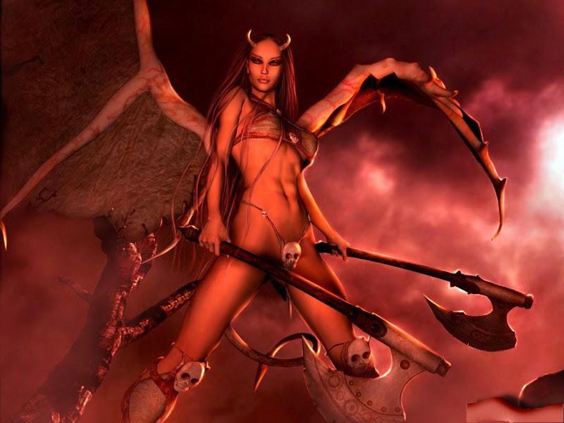 Demon Axes, Demonesses