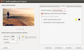 Redimensionar imágenes sin deformar - cuadro de diálogo 2