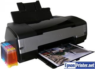 How to reset Epson 1410 printer