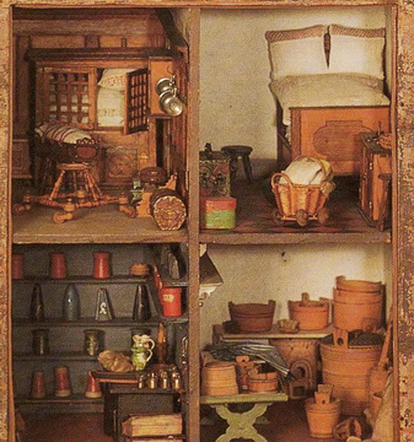 кукольный домик, игрушки, антиквариат