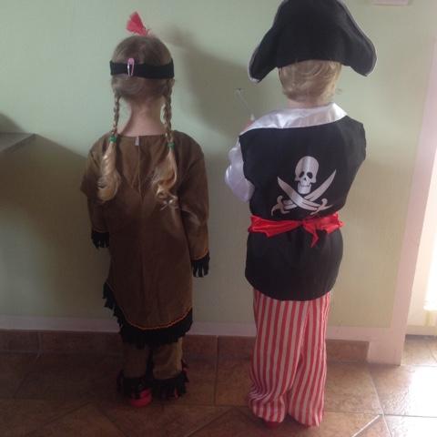 Squaw und Pirat