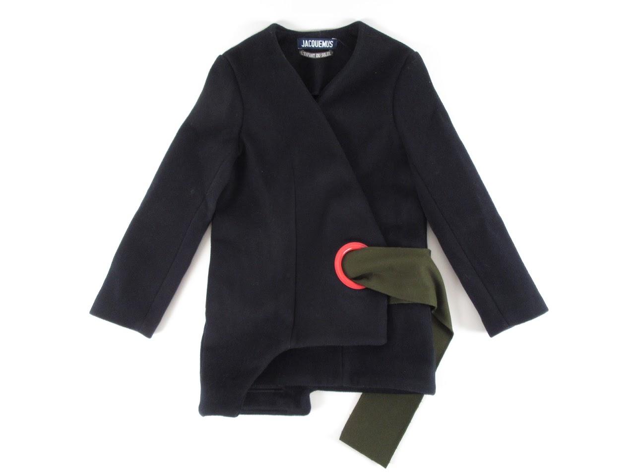 Jacquemus L'Enfant Du Soleil F/W15 Wool Coat