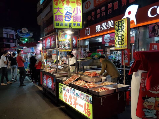 Hotdog stall from Liuhe Night Market in Kaohsiung