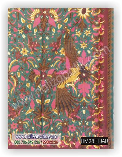 Butik Baju Batik, Macam Batik, Baju Wanita Online, HM28 HIJAU