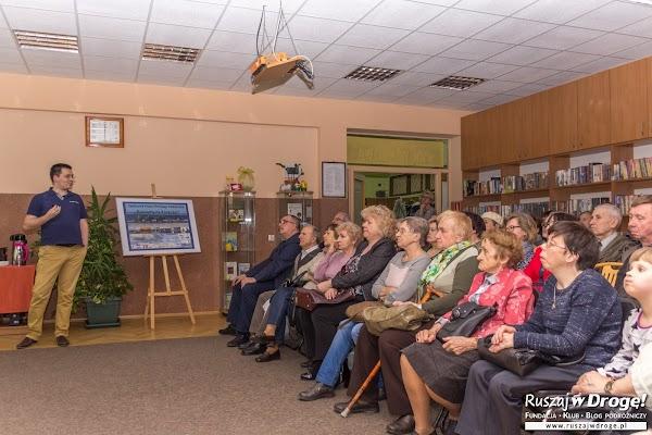 Spotkanie podróżnicze w Bibliotece w Łęczycy