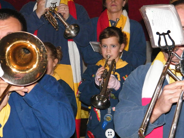 2009-11-08 Generale repetitie bij Alle daoge feest - DSCF0569.jpg