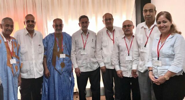 مسؤول العلاقات الخارجية بالحزب الشيوعي الكوبي يستقبل الوفد الصحراوي المشارك في الطبعة 24 لمنتدى ساو باولو