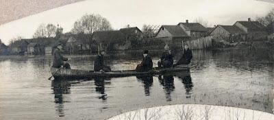 Офицеры 6 пехотного полка в Ямской струге10.04.1920 г.(из собрания эст. архива)