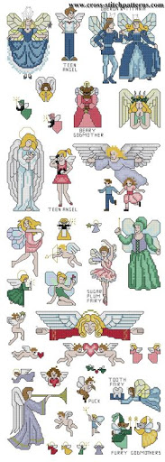 Fairies and angels chart
