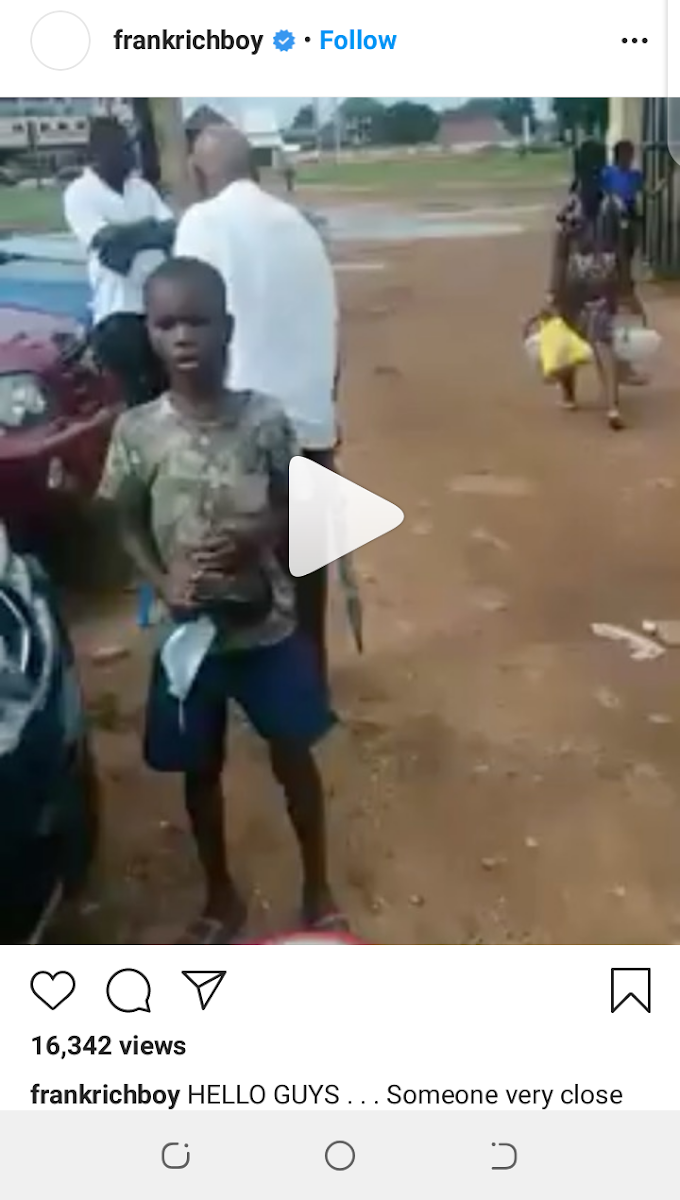 Trending: Gospel singer Frank Edwards looks for the boy who sings  in  this viral video