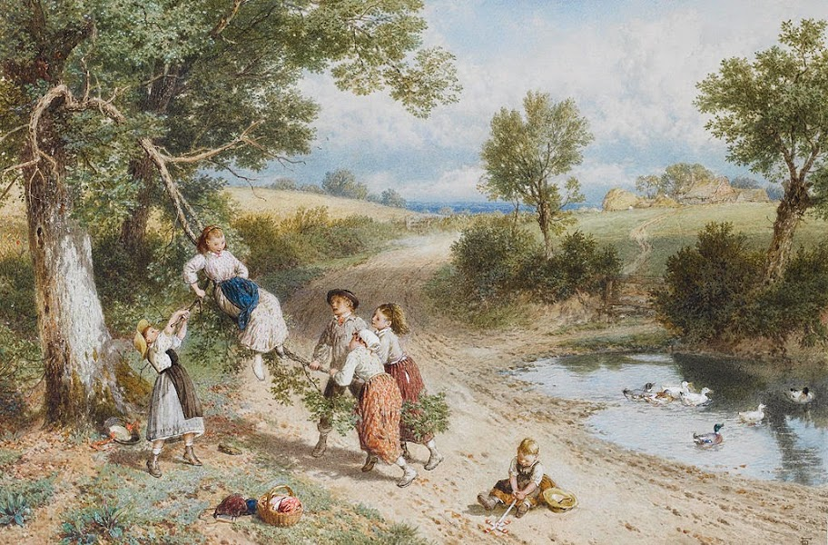 Myles Birket Foster - The Swing