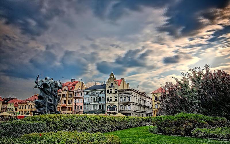 Bydgoszcz Stary Rynek w HDR HDRy