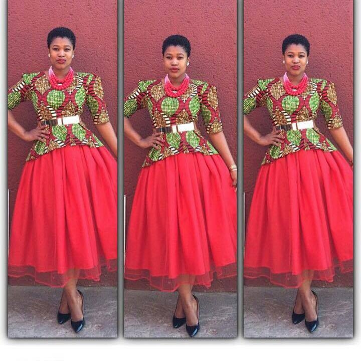 South African Traditional Dress Wear 2017