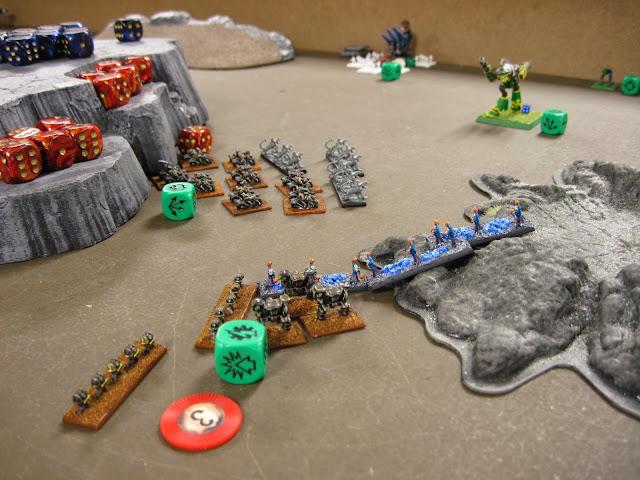 The Iron Warriors pushing towards the blitz.