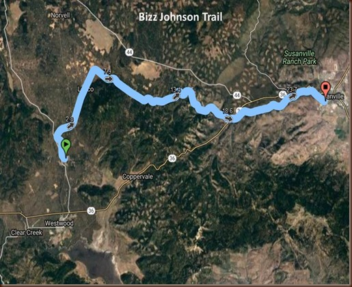 Bizz Johnson Trail