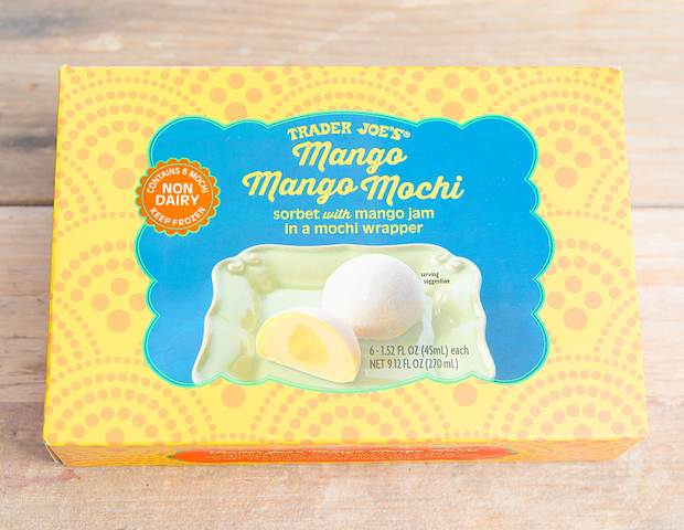 photo of a package of Mango Mango Mochi