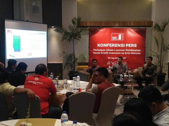 Berikan Pelayanan Terbaik, Home Credit Indonesia Hadir di Manado