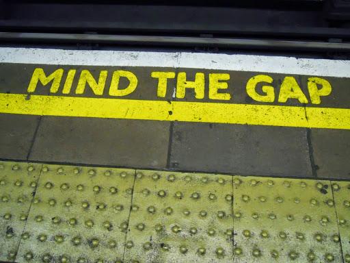 Mind the Gap! #StudyAbroadBecause the world awaits you