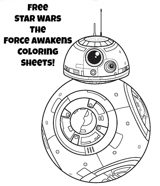 Star Wars The Force Awakens Free Coloring Sheets Pletely Free Printable  Activity Sheets From The