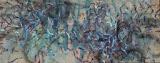 """Série """"A travers l'eau"""" Nuit 3, 80X170, huile/toile"""