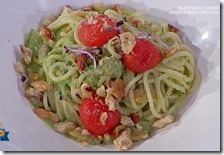 Spaghetto a' vongole, crema di broccoli e taralli napoletani